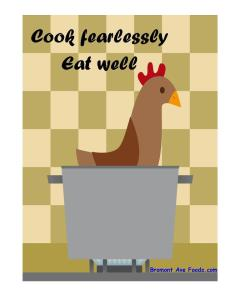 Cook fearlessly