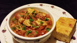 Kitchen Cassoulet and Corn Bread
