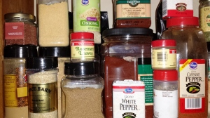 Spice in my pantry.
