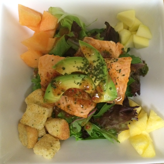 Talley salmon salad
