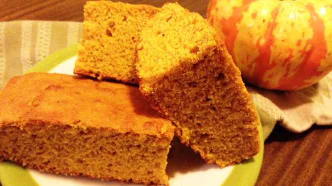 A little pumpkin corn bread is good for the heart