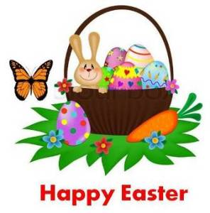 Happy easter web