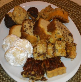 Holiday plate