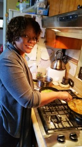 In the kitchen with Pat Prescott
