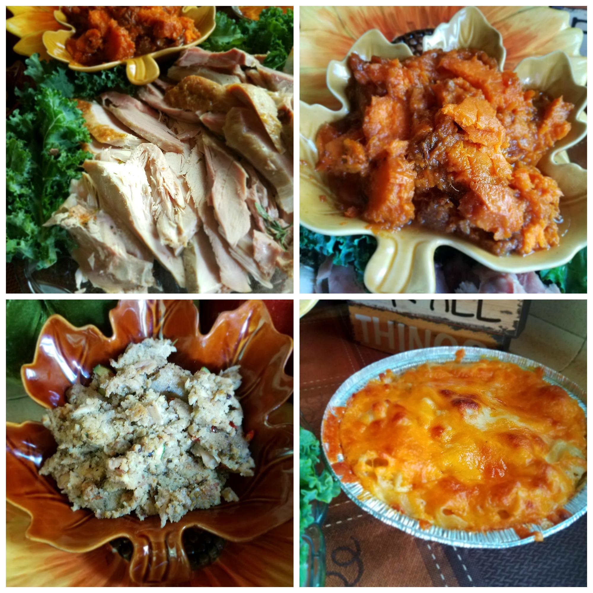 Thanksgiving Dinner Collard Greens And Caviar